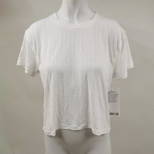 Lululemon Train To Be Short Sleeve White Size S